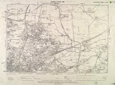 Map of Glasgow, 1896