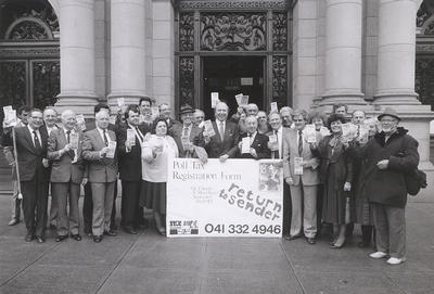 Poll Tax Protest