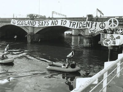 Trident Protest