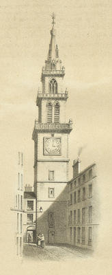 Guildry Court and Merchants' Steeple