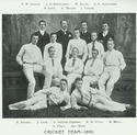 Cartha Cricket Team, 1890