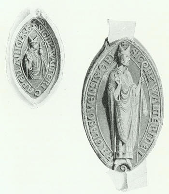 Seal of Walter, Bishop of Glasgow