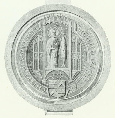 Seal of Archbishop Beaton, 1508-24