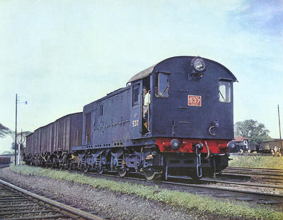 NBL Locomotive, Ceylon