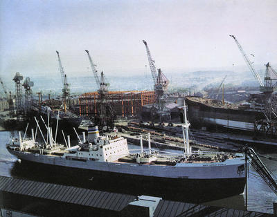 Fairfield Shipyard, 1950s