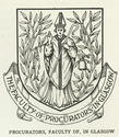 Faculty of Procurators Coat of Arms
