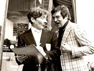 Jimmy Logan and Kenneth Williams