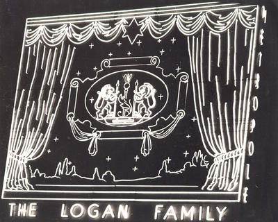 The Logan Family in Lights