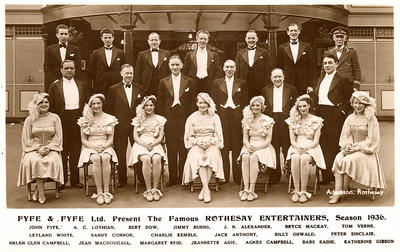 Rothesay Entertainers, 1936