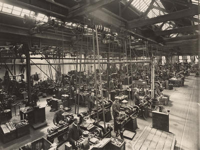 Coplawhill machine shop