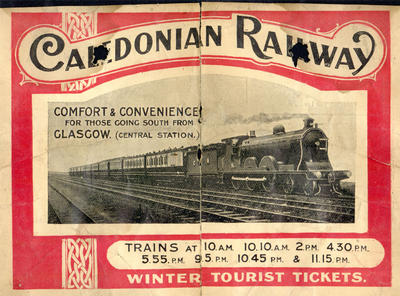 Caledonian Railway advertising
