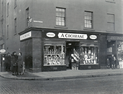 Cochrane's grocers shop