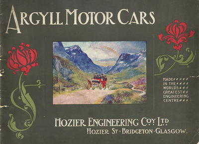 1904 Argyll catalogue