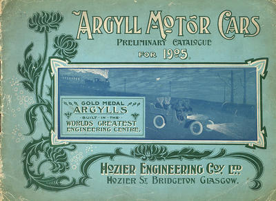 Argyll catalogue 1905