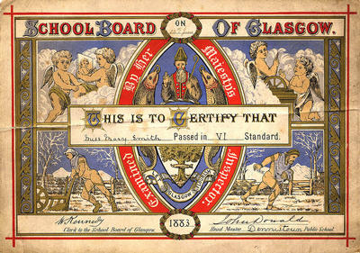 School Board Certificate