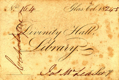 Library ticket 1824