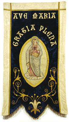 Ave Maria banner
