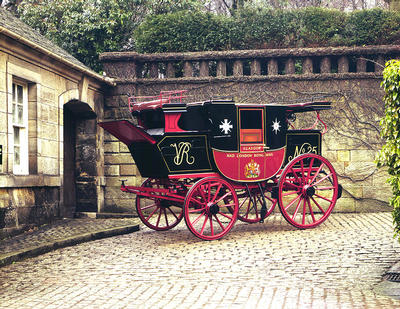 Royal Mail Coach 1840