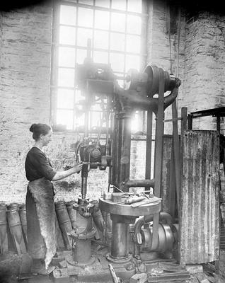 Munitions worker
