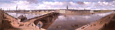 Panorama of the City of Glasgow