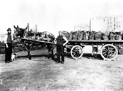Cowlairs Co-op Coal Cart