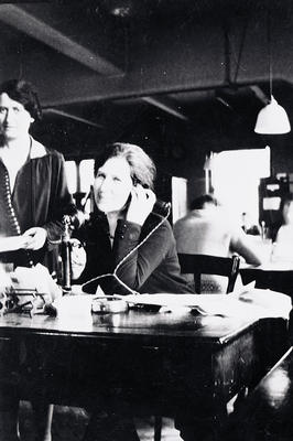 Telephone exchange, 1920s
