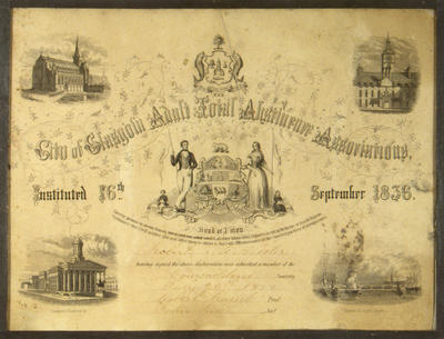 Total Abstinence Certificate