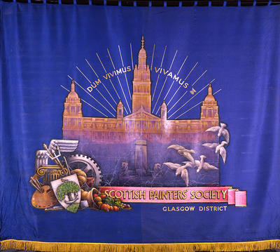 Scottish Painters' Society banner