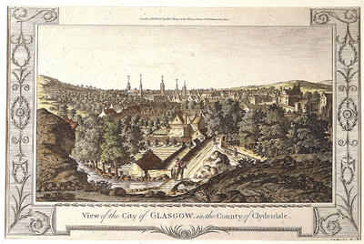 View of the City of Glasgow
