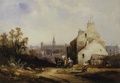 Glasgow  Cathedral c 1840