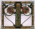 Glass panel by George Walton