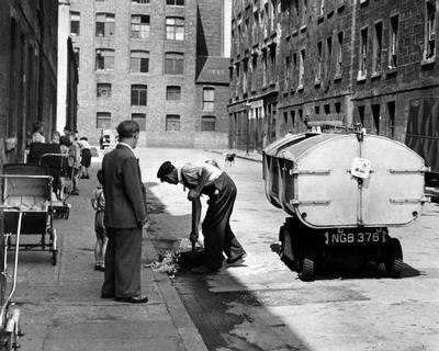 Cleaning the Streets, 1955