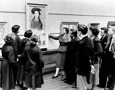 Art appreciation, 1955