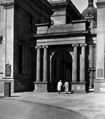 Royal Exchange Square, 1955