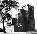 Crookston Castle, 1955