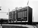 Totalisator Board at Shawfield