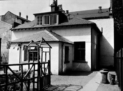 Cottage in West Nile Street, 1955