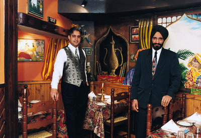 Charan Gill and Gurmail Dhillon