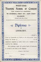School of Cookery Diploma