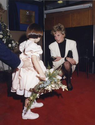 Princess Diana at Queen's College