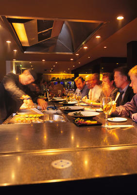 Teppanyaki Bar at the Arthouse