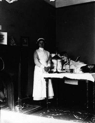 Nurses' Home Sick Bay