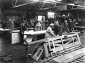 Tinplate Shop, Linthouse Shipyard, 1916