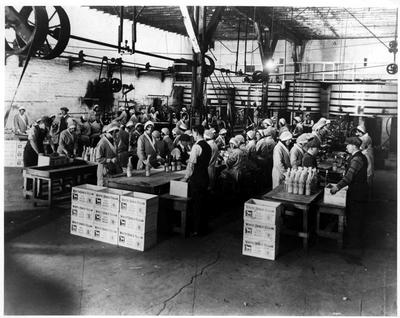White Horse Bottling Line, 1920s