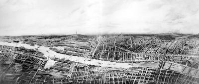Glasgow From the Air, 1891